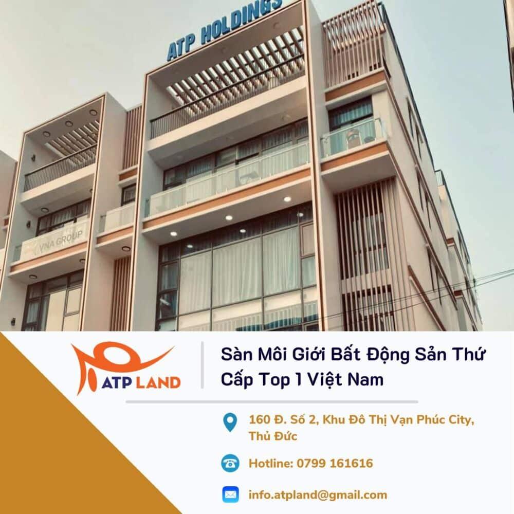 ATP Land sàn môi giới bất động sản thứ cấp top 1 Việt nam