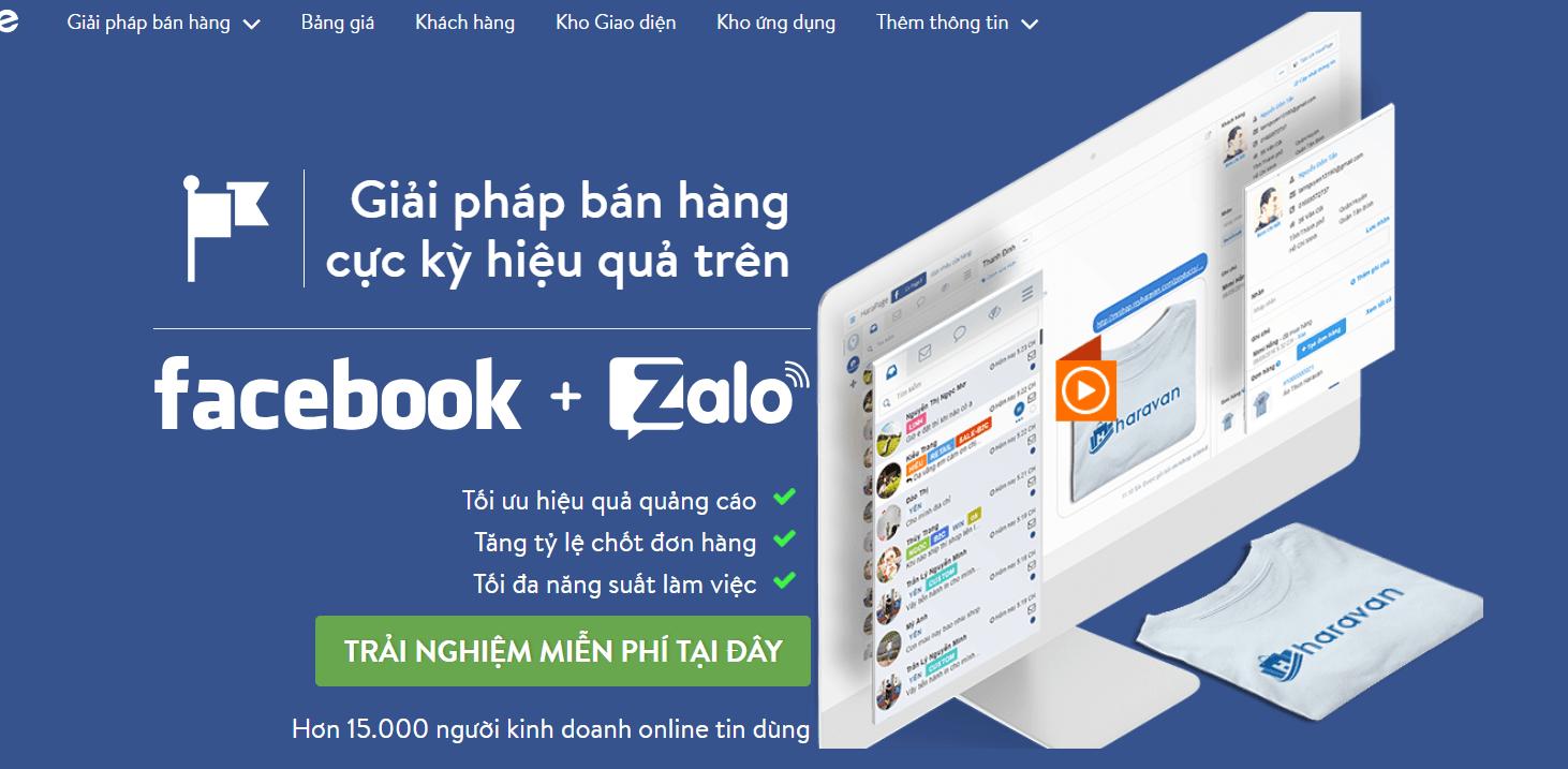 1 - Tổng hợp top phần mềm hỗ trợ bán hàng, marketing tốt nhất trên Facebook