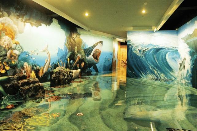Vẻ đẹp cổ tích bên trong Bảo tàng tranh 3D Artinus
