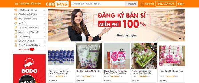 Top 12 website bán hàng giá sỉ lớn nhất Việt Nam 2019