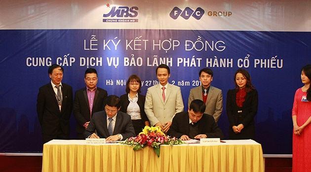 Lễ ký kết hợp đồng cung cấp dịch vụ phát hành cổ phiếu của MBS