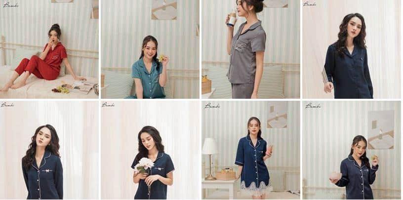 5 Shop bán đồ ngủ đẹp khó cưởng tại Hà Nội bạn nên ghé thăm