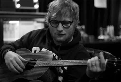 Ca sĩ Ed Sheeran
