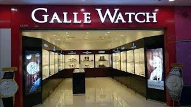 Một cửa hàng của Galle watch tại Vincom Quang Trung