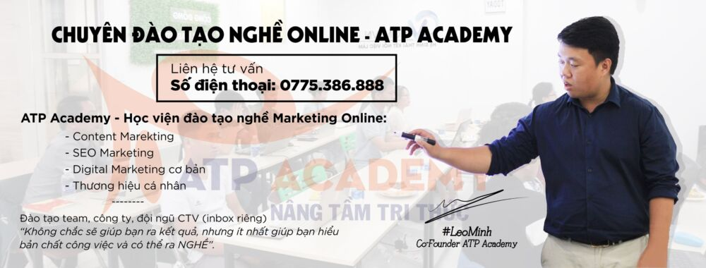 Học viện đào tạo marketing online