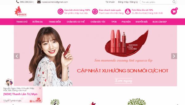 Top 5 cửa hàng mỹ phẫm chất lượng uy tín tại Việt Nam hot trên MXH