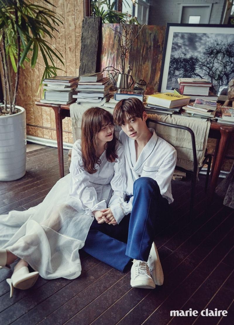 Một trong những chủ đề của Marie Claire Hàn Quốc: các cặp đôi