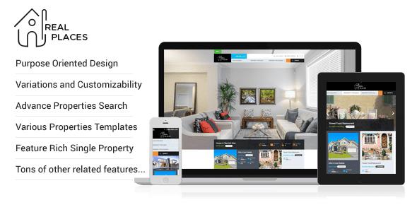 mẫu web bất động sản