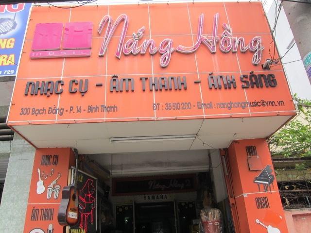 Nắng Hồng ngoài 2 cửa hàng có một hệ thống lớp học uy tín