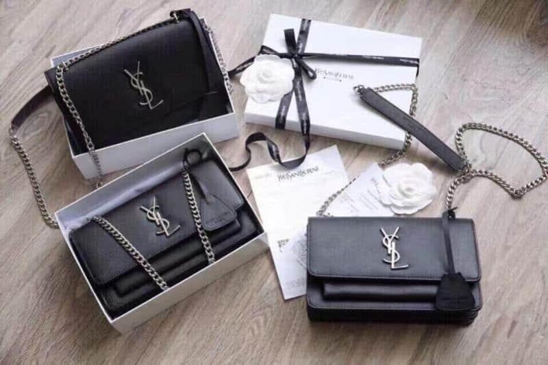 Mẫu túi xách Ysl taaij Nano Shop