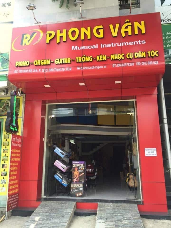 Cửa hàng Phong Vân ở Thành phố Hồ Chí Minh