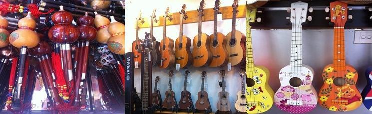Phong Vân là một trong những cửa hàng hiếm hoi còn cung cấp nhạc cụ dân tộc uy tín