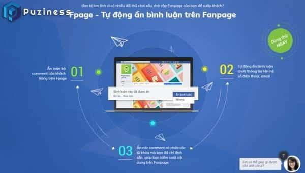 Phần mềm quản lý fanpage Fpage