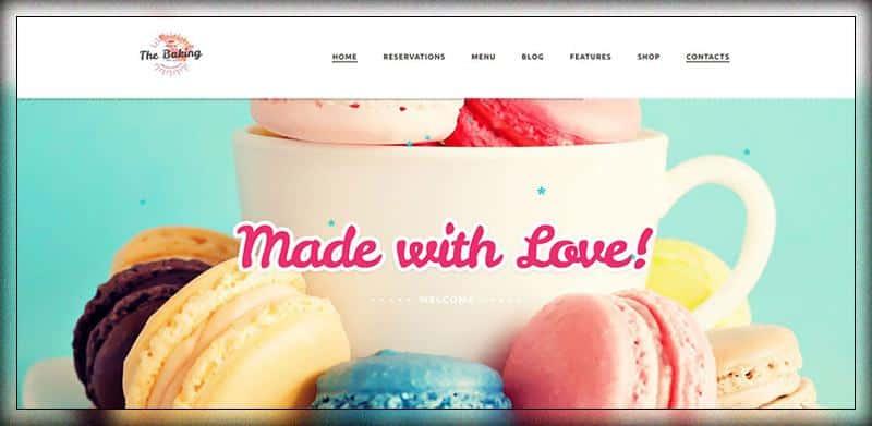 The Baking -top 10 website bánh ngọt đầu tiên