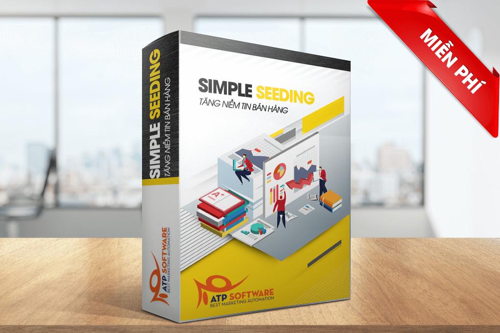 simple seeding atp - Tổng hợp top phần mềm hỗ trợ bán hàng, marketing tốt nhất trên Facebook