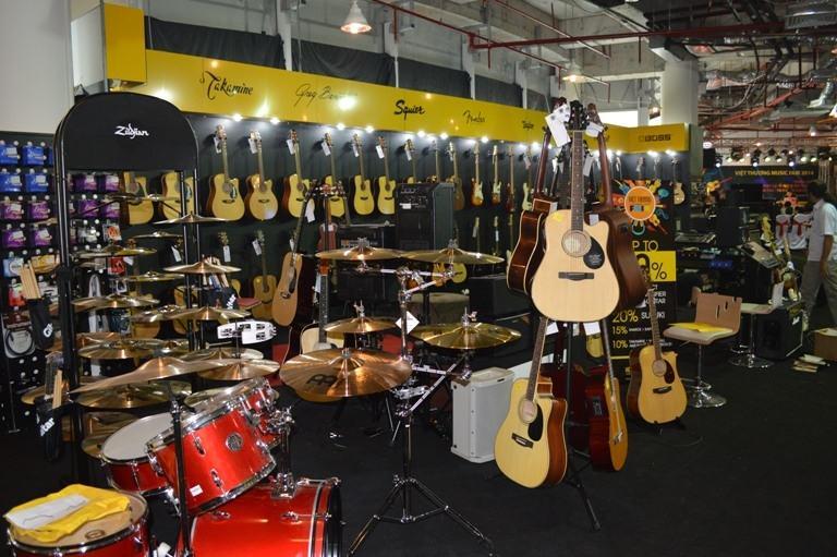 Việt Thương chuyên cung cấp các nhạc cụ đến từ hầu hết các thương hiệu trên thế giới