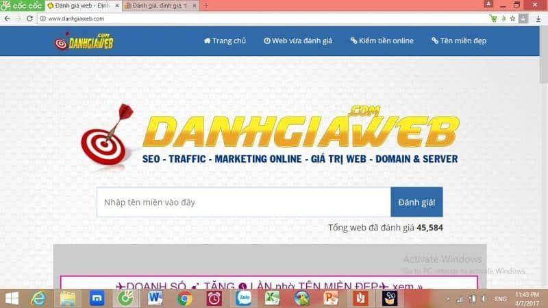 10 Website Tính Giá Trị Website Hiệu Quả Chính Xác Nhất 2019 2