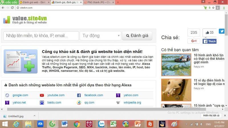 10 Website Tính Giá Trị Website Hiệu Quả Chính Xác Nhất 2019 3