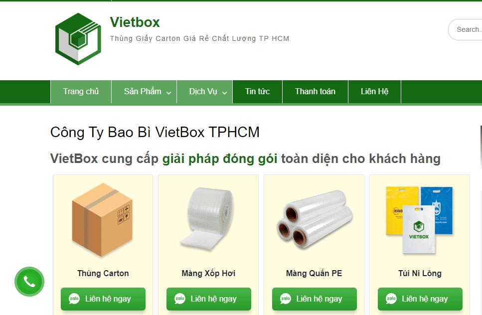 Công Ty Bao Bì Vietbox