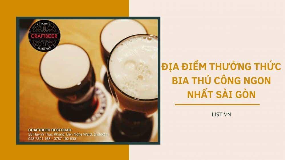 Thuong Thuc Bia Thu Cong Ngon