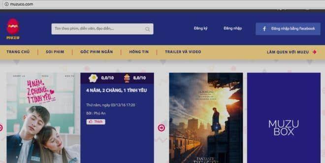 Top 20 website review phim cực chất tại Việt Nam