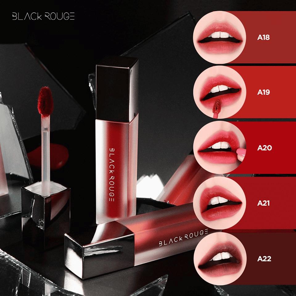 Top 5 màu son đẹp nhất của Black Rouge