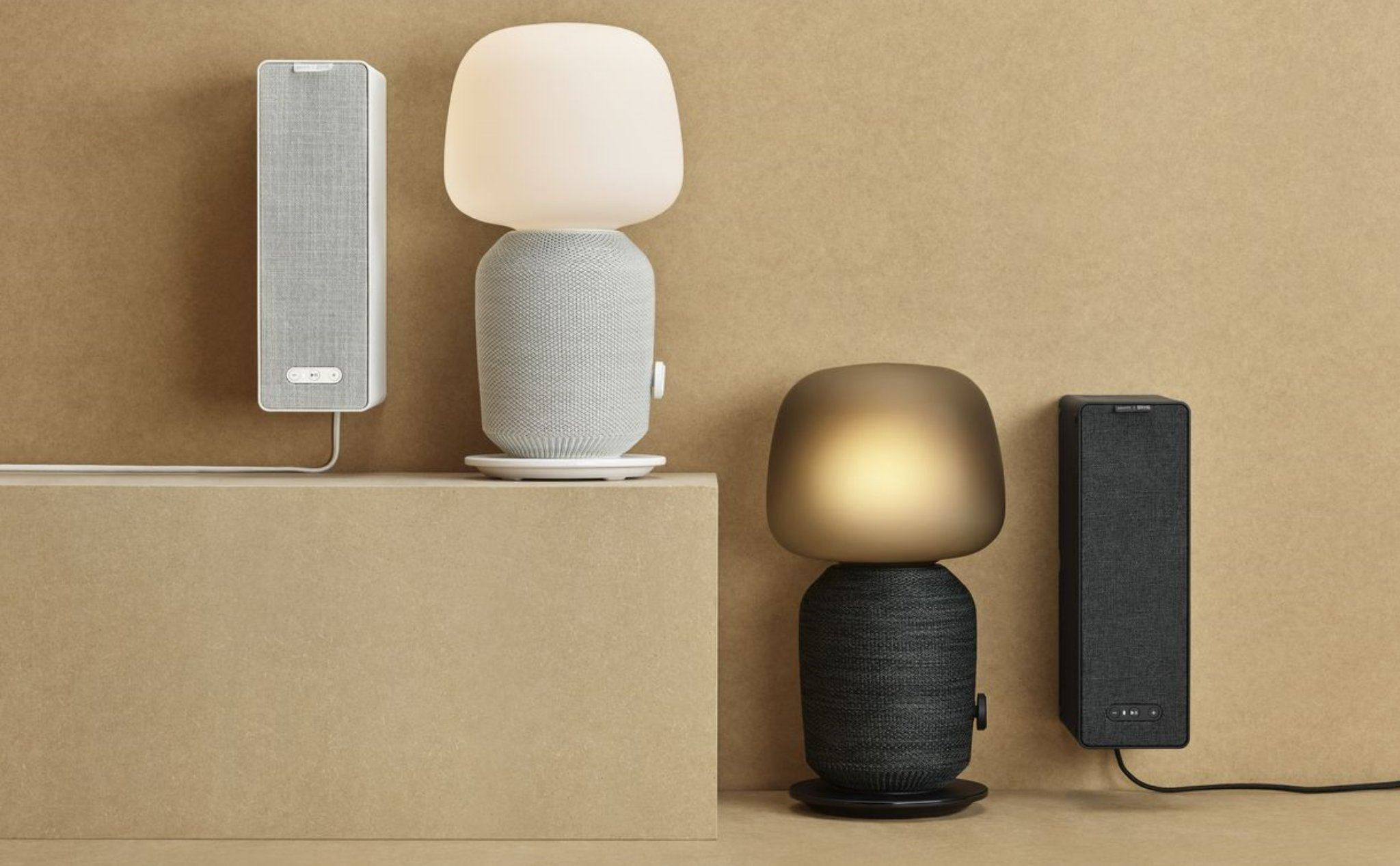 Kết quả hình ảnh cho Loa Bookshelf WiFi của Ikea Sonos Symfonisk