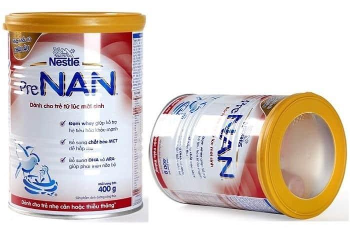 Sữa Nan Pre dành cho trẻ sinh non và nhẹ cân