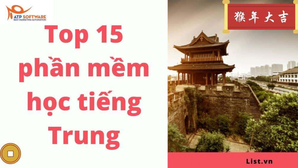 Top 15 Phần Mềm Học Tiếng Trung