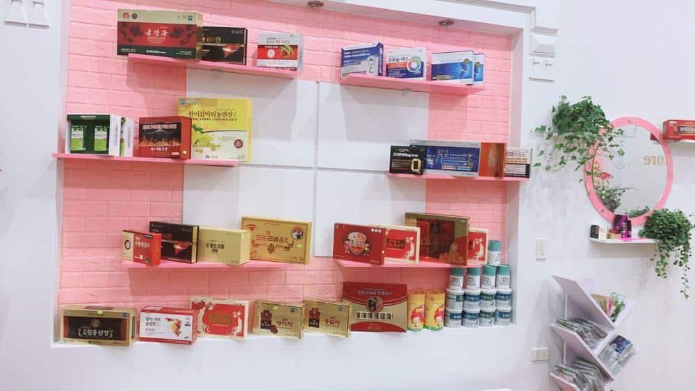 Một góc Sản phẩm tại Cửa hàng HL Store