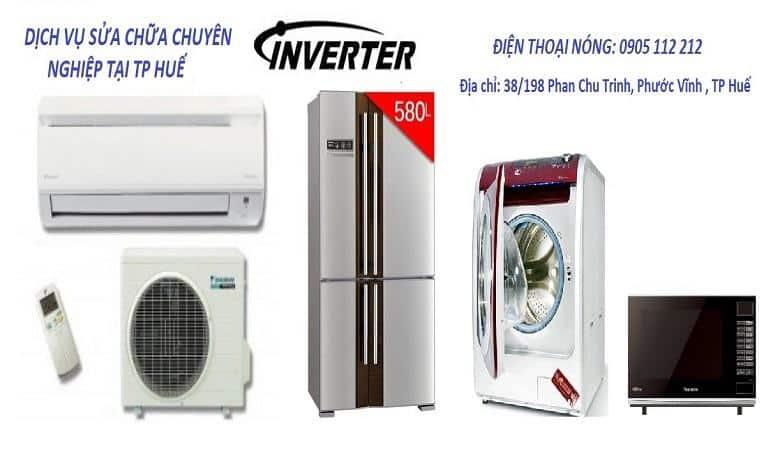 Hoang Phong dịch vụ chuyên sửa máy giặt tại Huế