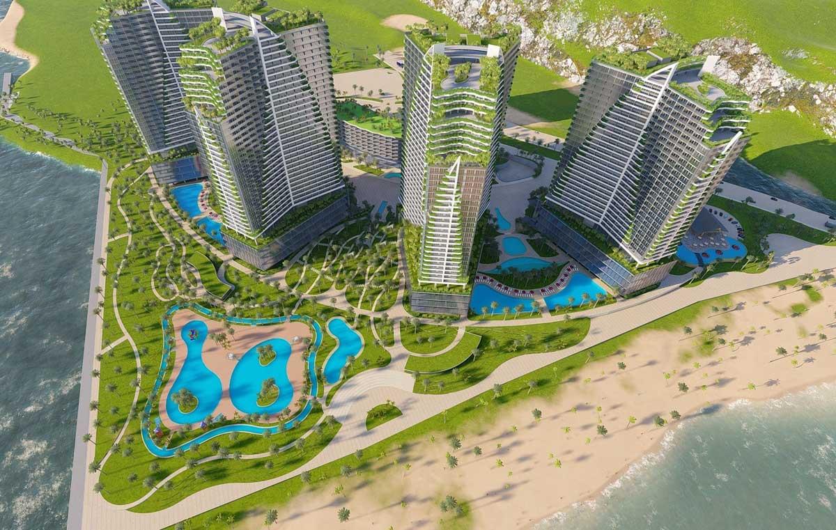 Kết quả hình ảnh cho Mặt bằng thiết kế Ninh Chữ Sailing Bay