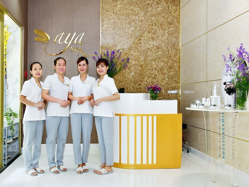 Aya Spa là spa ở Hồ Chí Minh chăm sóc da bằng công nghệ trị liệu kĩ thuật cao