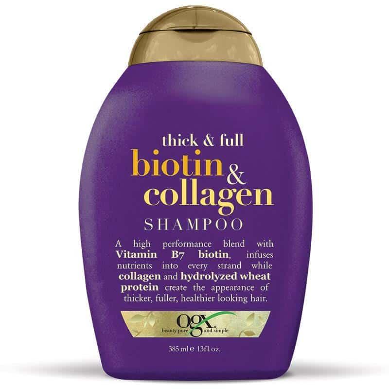 Dầu gội OGX Thick and Full Biotin and Collage Shampoo