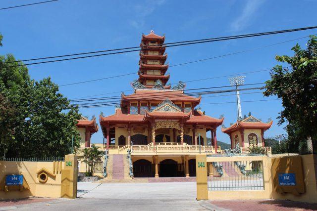 Bức tượng Phật nổi tiếng ở chùa (ẢNH ST)