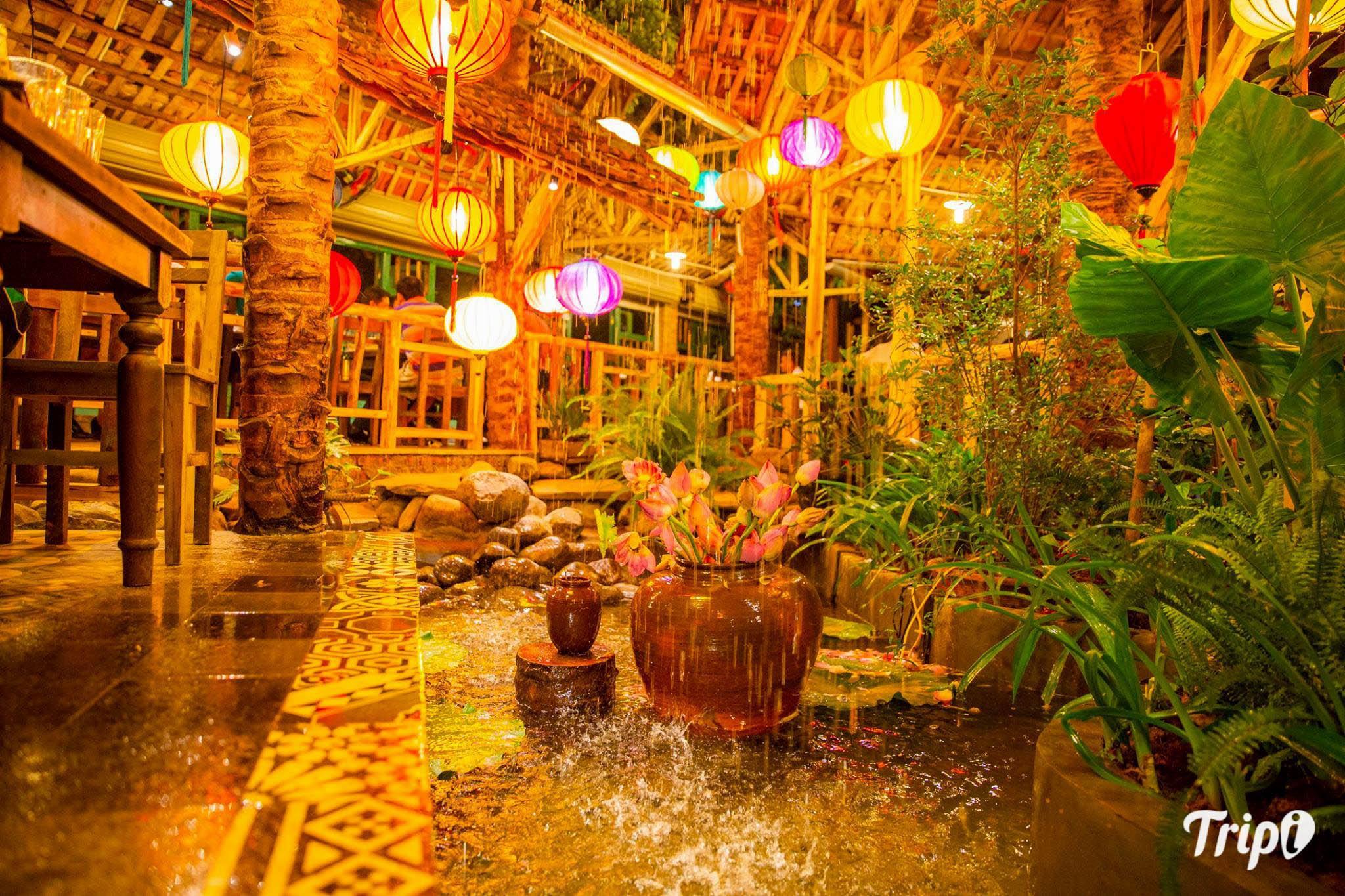 Quán ăn ngon ở Hà Nội vào buổi tối - Chuỗi bò tơ Quán Mộc