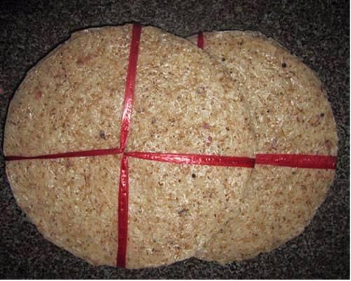 Bánh tráng nước dừa ẩm thực Bình Định