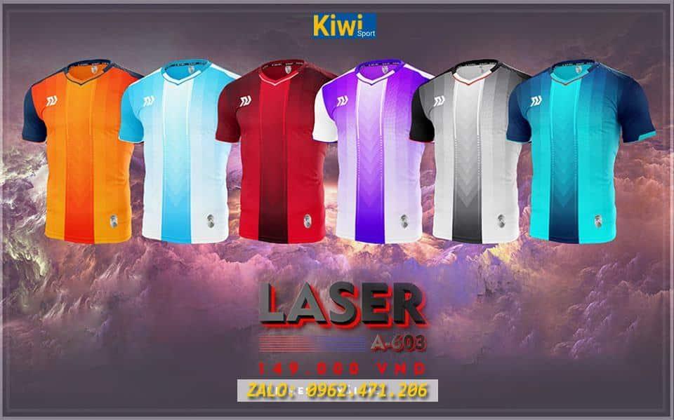 Áo Bóng Đá Laser Tuyệt Đẹp