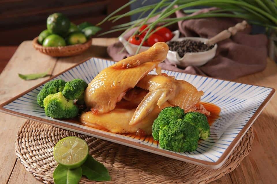 quán ăn ngon hà nội: Gà hấp mắm nhĩ
