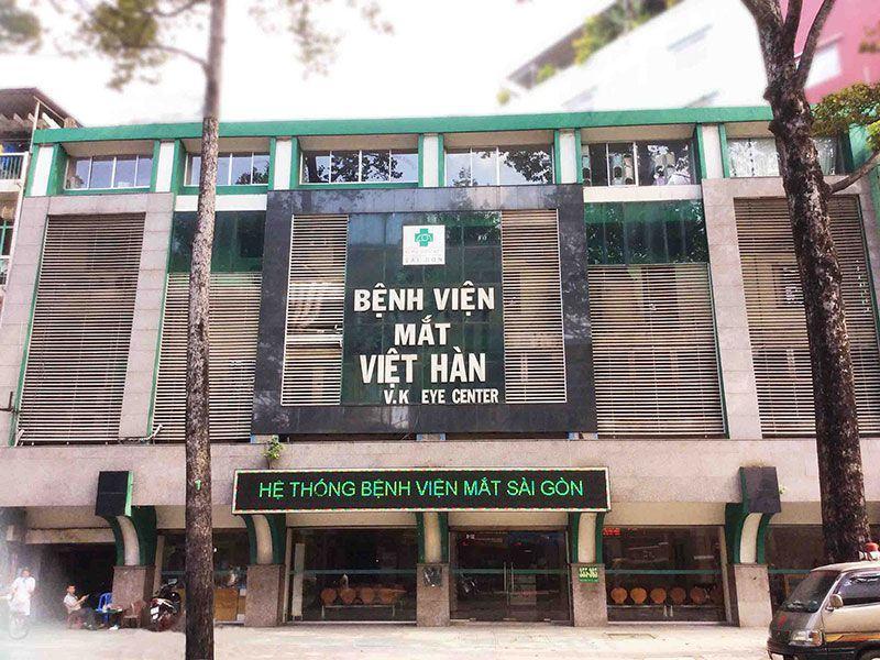 Kết quả hình ảnh cho Bệnh viện Mắt Việt-Hàn
