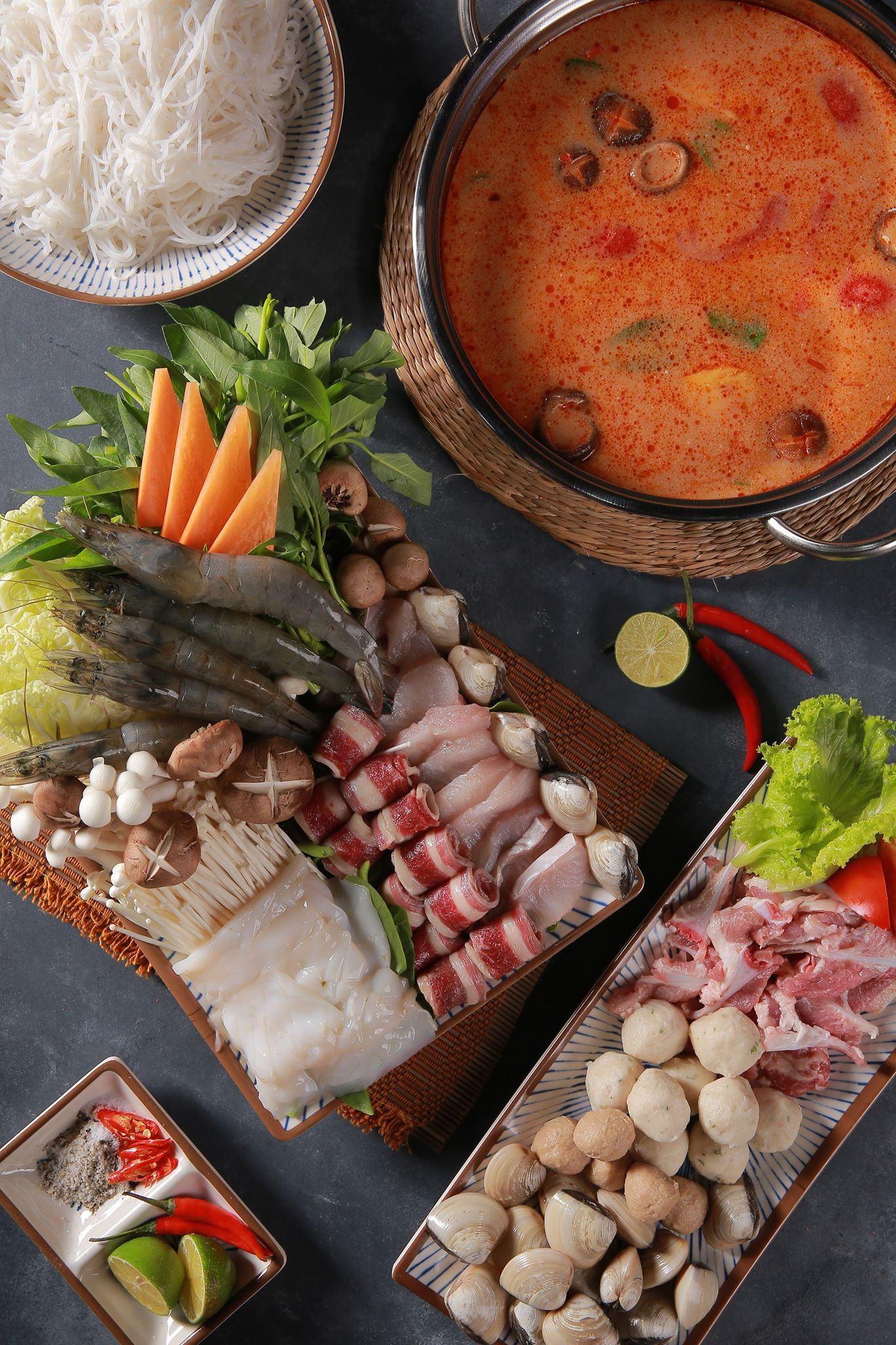 lẩu thái chua cay Lạc quán quán ăn ngon hà nội