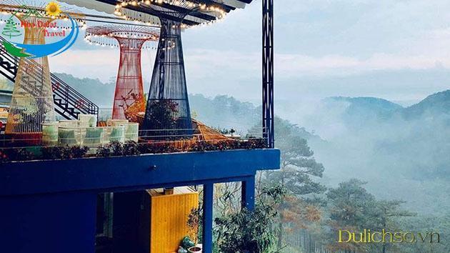 Đà Lạt, Dalat Night Coffee, quán cafe, địa điểm ăn uống, Tour Đà Lạt, Chợ Đà Lạt, Coffee Fresh Garden, Coffee Horizon, Dalat Golf Cafe