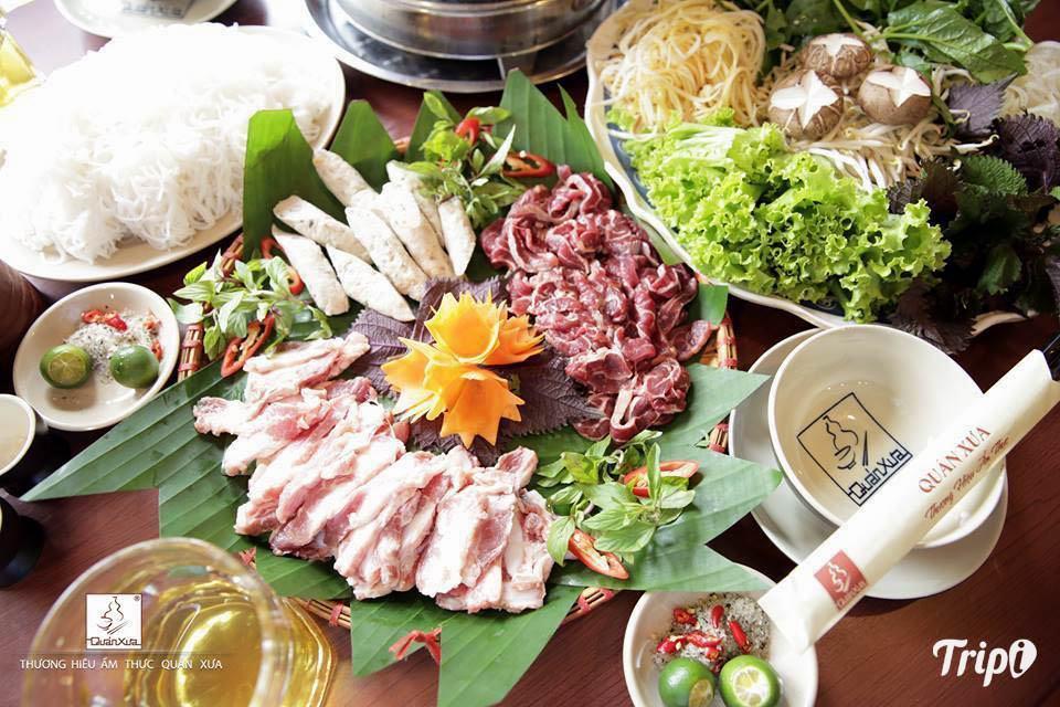 Quán ăn ngon ở Hà Nội vào buổi tối - Quán xưa