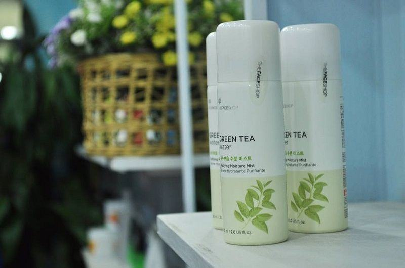 Xit Khoang The Face Shop Green Tea Water