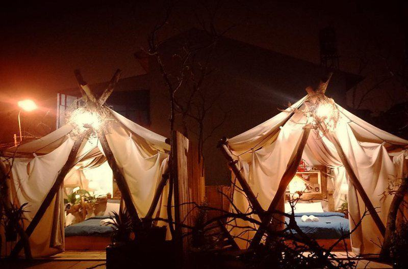 Lều ở của The Shelter homestay tại Tp Đà Lạt
