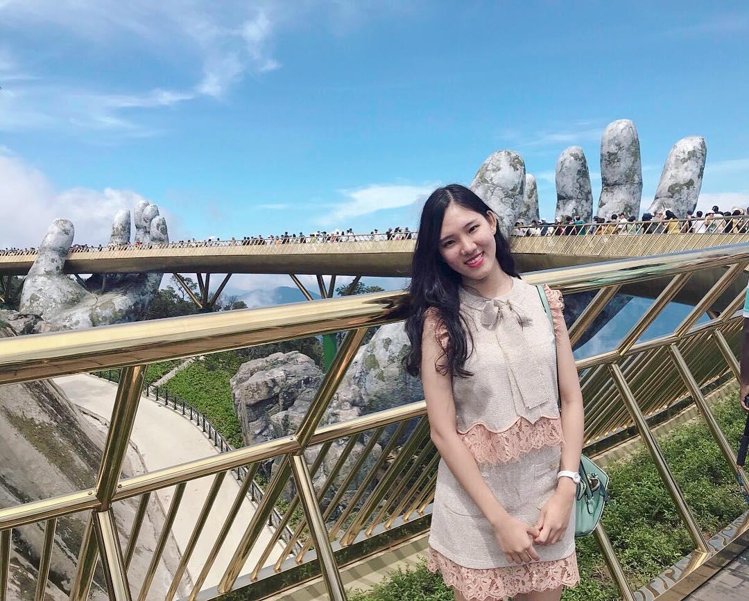 Cầu Vàng Đà Nẵng cũng là điểm check in nổi tiếng mới được truyền thông gần đây