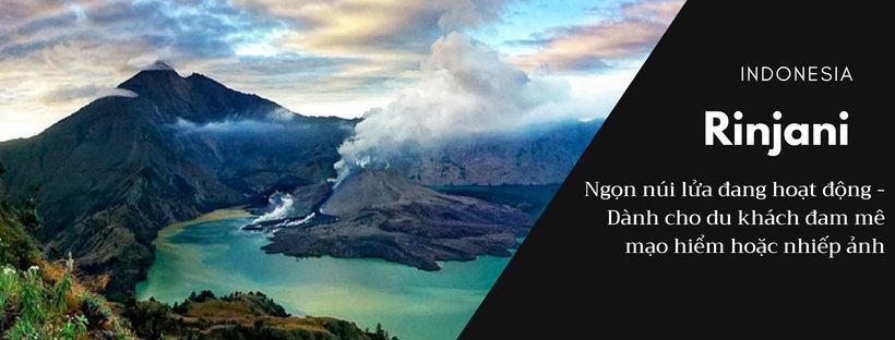 Núi lửa Rinjani – Điểm du lịch nước ngoài cho người ưa mạo hiểm chỉ từ 5 triệu