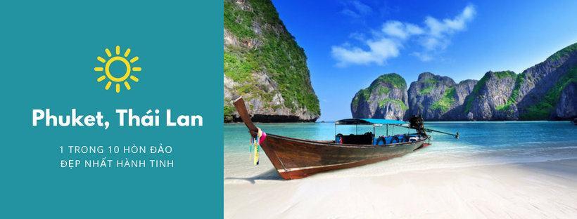 Du lịch Phuket, Thái Lan -1 trong 10 hòn đảo đẹp nhất hành tinh