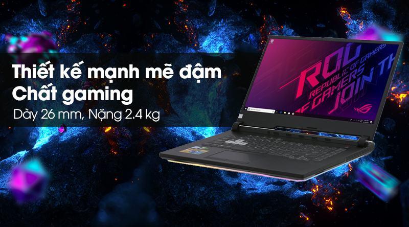 Laptop Asus Gaming ROG Strix G531G i7 9750H/8GB/512GB/4GB GTX1650/Win10 (AL017T)
