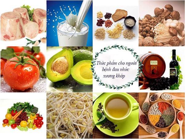 Những thực phẩm tốt cho người bị đau nhức xương khớp